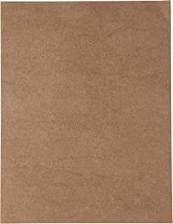 Kraft Cardstock - 96-Pack Letter Sized Stationery Paper, Printable 175GSM 65lb Cover Cardstock, Perfect for Menus, Documen...