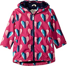 Hearts Microfiber Rain Jacket (Toddler/Little Kids/Big Kids)