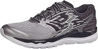 361 Degrees Men's Meraki High Performance Everyday Training Lightweight Running Shoe, Sleet/Black, 7.5
