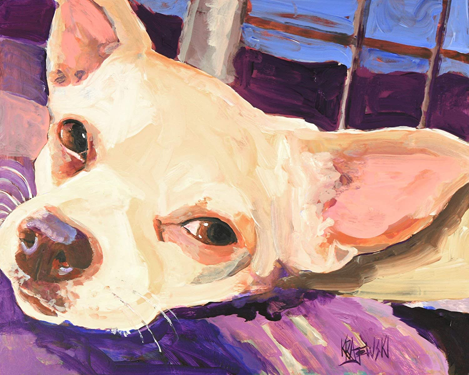 Chihuahua National products Art Print Mail order Fawn Paint Gifts From Original
