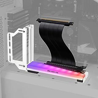 EZDIY-FAB Soporte de Soporte de Tarjeta gráfica Vertical con LED ARGB 5V 3Pin, Montaje GPU, Kit de Soporte VGA para Tarjet...