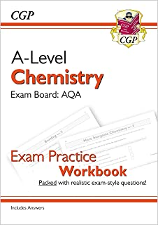 A-Level Chemistry: AQA Year 1 & 2 Exam Practice Workbook - includes Answers