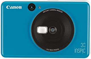 Canon CV-123A iNSPiC C Instant Camera- Seaside Blue (CBLUE)