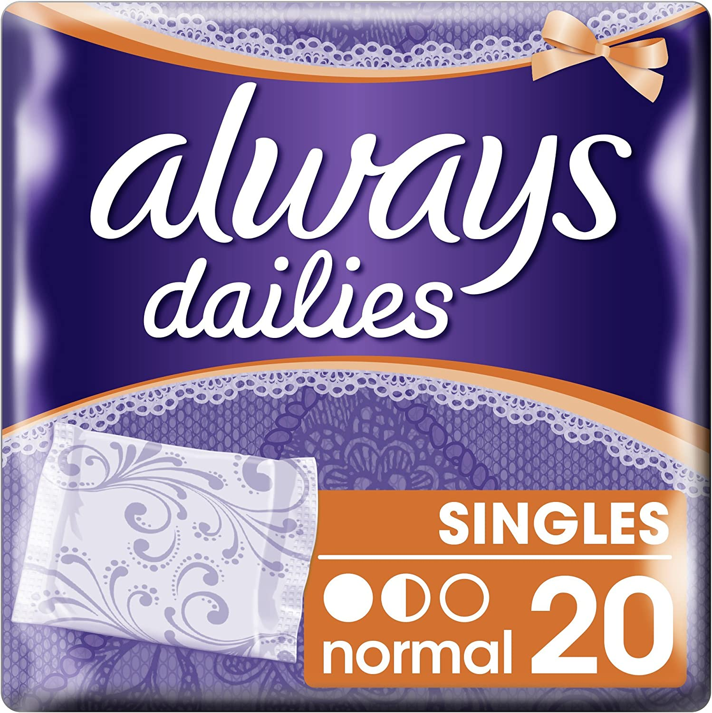 Branded goods shop Always Dailies Normal Pack 20 Pantyliners