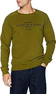 Scotch & Soda Men's Crew Neck Sweat Sweatshirt