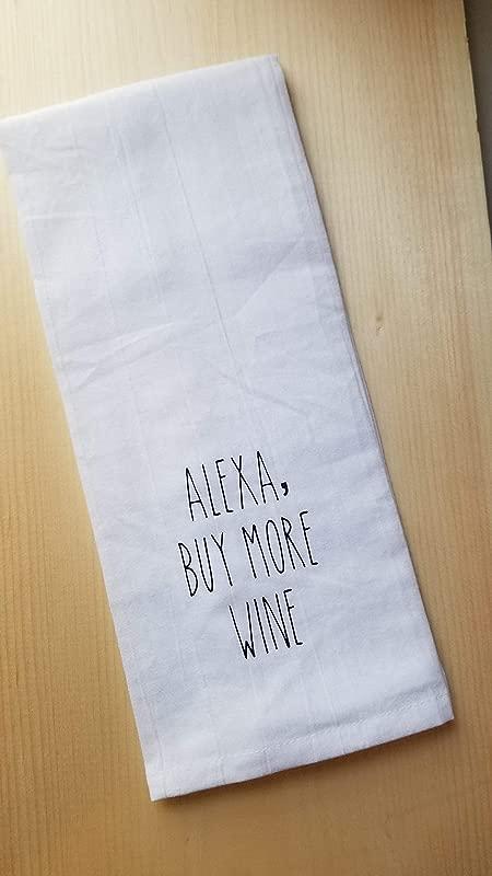 Alexa Commands Tea Towel Multiple Options