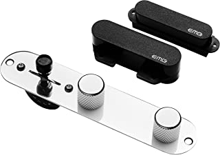 EMG T SYSTEM Prewired Telecaster Guitar Pickup Set Plus Control Plate System