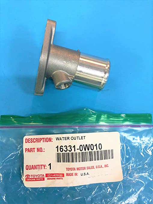WATER 16331-58090 1633158090 Genuine Toyota OUTLET Motors Auto ...