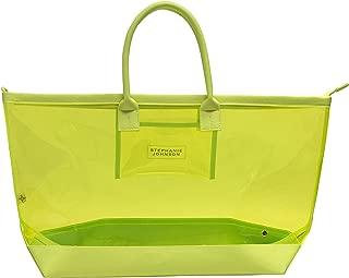 Stephanie Johnson Women's Miami Carry-All, Neon Yellow