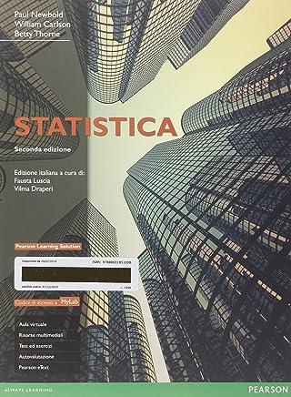 Statistica. Ediz. mylab. Con aggiornamento online. Con e-book