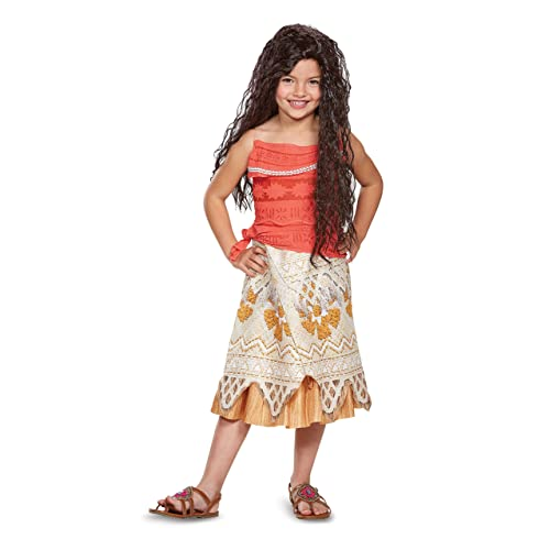 Disney Moana Costume, Medium (7-8)