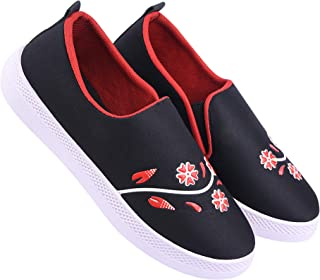 Shoefly-9041 Blue Exclusive Range of Loafers Sneakers Shoes for Women