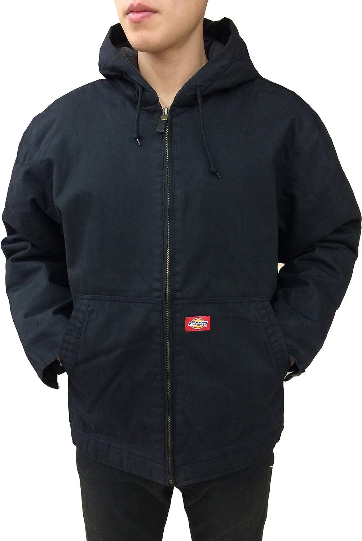 Dickies Men's Broken Twill Hooded Jacket