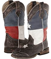 Roper Kids - Texas Flag Square Toe Boot (Toddler/Little Kid)