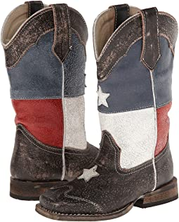 Texas Flag Square Toe Boot (Toddler/Little Kid)