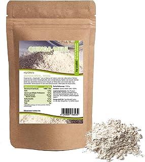 Mynatura Quinoa Mehl I Weiß I Quinoamehl I Getreide I Nährstoffreich I Mehlalternative I Kochen I Backen I Beutel 1 x 1000g
