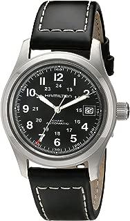 Men's H70455733 Khaki Field Watch