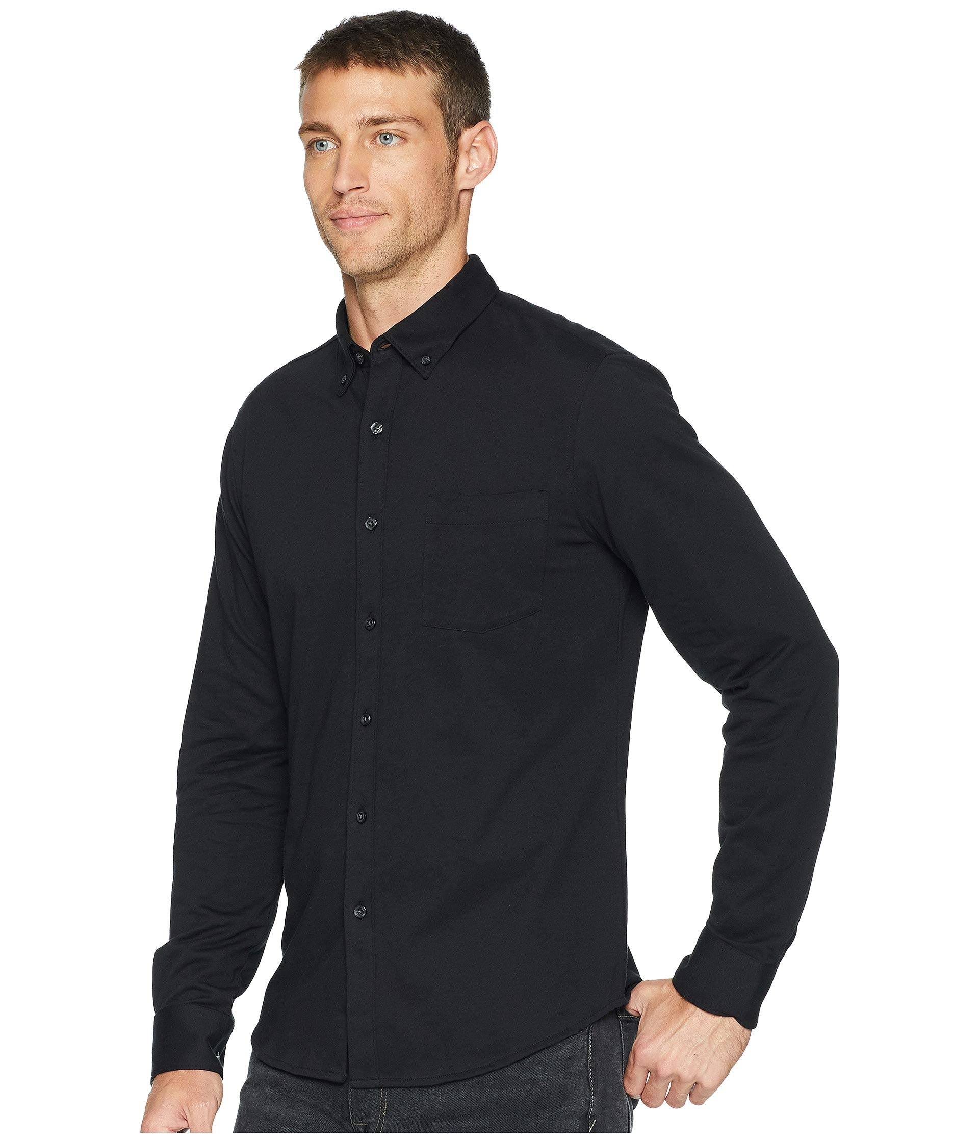 Ellis Fit Slim Shirt Knit Licorice Perry PqExdRwPS