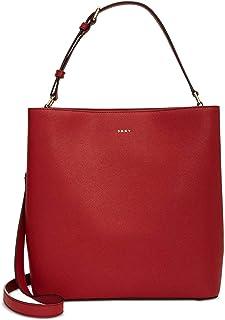 Samara Small North South Bucket Bag Red