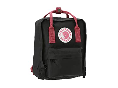 Fjallraven Kanken Mini (Black/Ox Red) Backpack Bags
