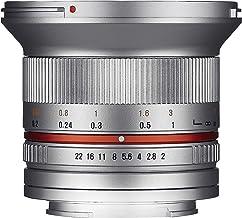 Samyang F1220506102 - Objetivo fotográfico CSC-Mirrorless para Sony E (Distancia Focal Fija 12mm, Apertura f/2-22 NCS CS, diámetro Filtro: 67mm), Plateado