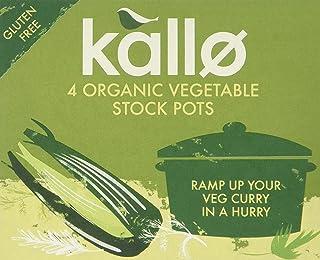 Kallo Organic Vegetable Stock Pots, Pack of 8