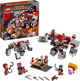 LEGO Minecraft The Redstone Battle 21163 building set with Hex, Hedwig, Hal and Valorie figures, Toy for Kids 8+ years old...