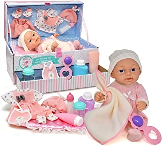 Gift Boutique Realistic Baby Doll with Magic Disappearing Milk Bottle, Lifelike Newborn Dolls Accessories Set for Girls an...