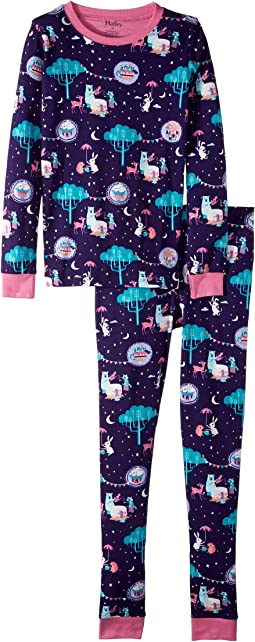 Enchanted Tea Party Organic Cotton Pajama Set (Toddler/Little Kids/Big Kids)