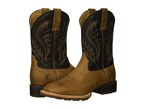 Ariat Hybride Rancher Huilée Sellerie En Détresse Rowdydistressed Brun Brownearth Blackoily qaREvWUwwg