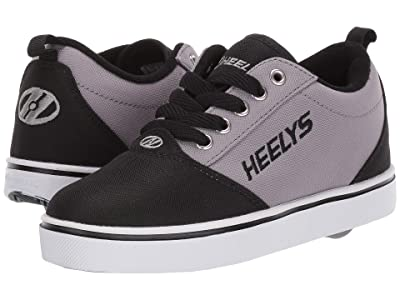 Heelys Pro 20 (Little Kid/Big Kid/Adult) (Black/Grey) Kid