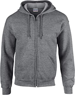 Heavy Blend Unisex Adult Full Zip Hooded Sweatshirt Top
