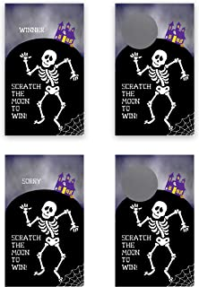 My Scratch Offs Halloween Spooky Skeleton Scratch Off Game Card - 25 Pack