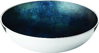 KINTRADE Naturale Contenitore di stoccaggio Guscio di Noce di Cocco deposito di Gioielli in Blu