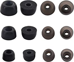 Rayker Replacement Ear Tips for Jabra Elite 65t Headphone, Silicone/Memory Foam Ear Tips Earbud Gel Tips for Jabra Elite Active 65t, 6 Pairs, S/M/L, Foam/Silicone
