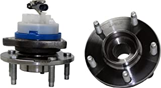 Brand New (Both) Rear Wheel Hub and Bearing Assembly for Chevy Corvette, Cadillac XLR 5 Lug W/ABS (Pair) 512153 x2