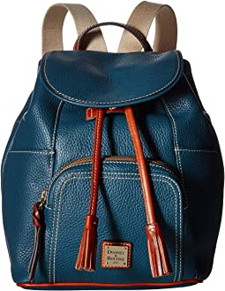 Mulholland brothers leather drawstring backpack lariat leather ... c90517b36faf2