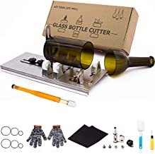 Glass Bottle Cutter, Upgraded Bottle Cutting Tool Kit, DIY Machine for Cutting Wine, Beer, Liquor, Whiskey, Alcohol, Champ...