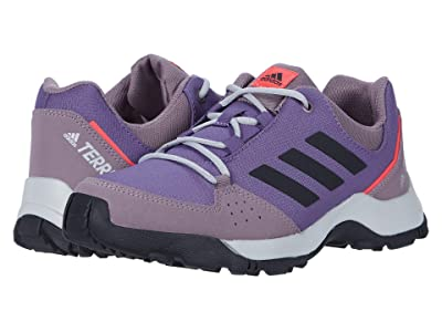 adidas Outdoor Kids Terrex Hyperhiker Low (Little Kid/Big Kid) (Tech Purple/Black/Shock Red) Girl