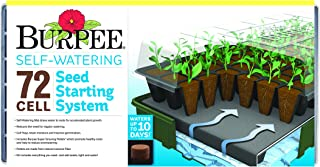 Burpee 72 Cell Self Watering Seed Starting Kit