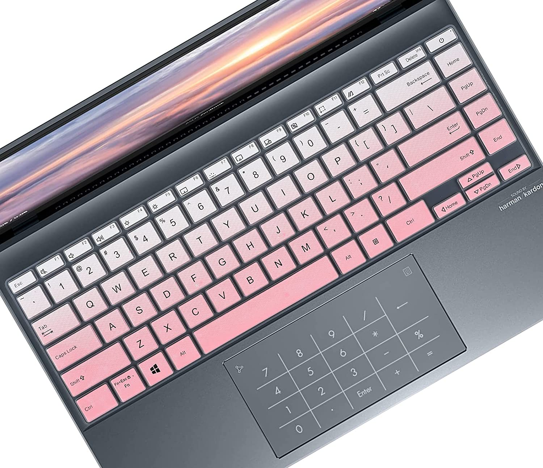 Keyboard Cover Skin for ASUS Zenbook 14 UM425IA UM425UA,14