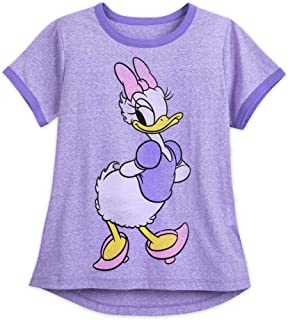 Disney Daisy Duck Ringer T-Shirt for Women Multi