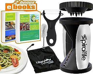 Original SpiraLife Spiralizer Vegetable Slicer – Vegetable Spiralizer – Spiral Slicer Cutter