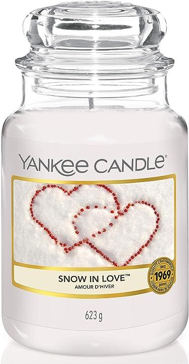 Candela profumata in giara grande yankee candle [classe di efficienza energetica a+++] 1249712EZ