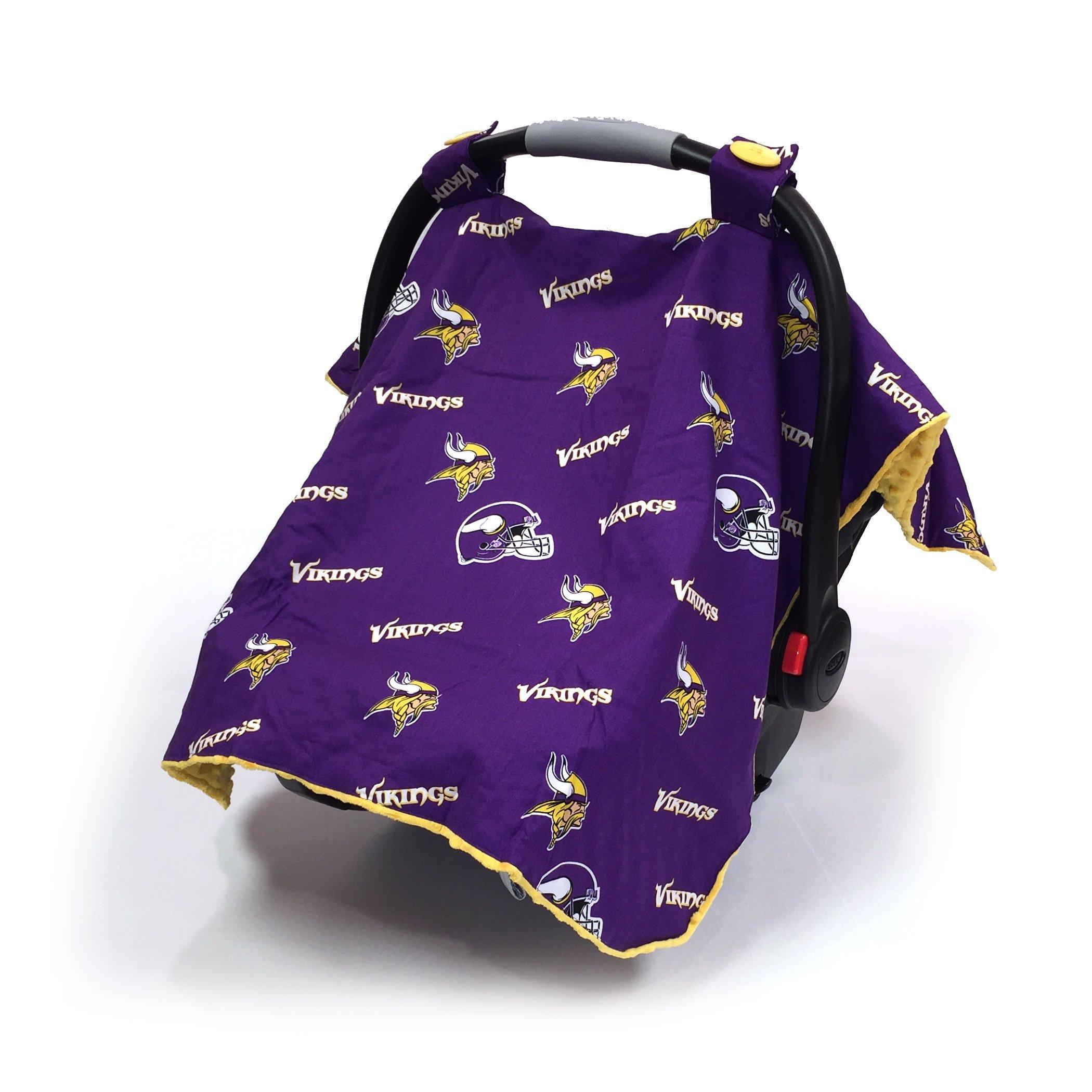 Baby Fanatic Minnesota Vikings Baby Gift Set