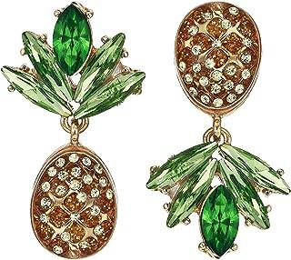 Women's Pineapple Drop Earrings