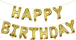 Best happy birthday gold letters Reviews
