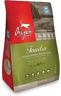 ORIJEN Tundra High-Protein, Grain-Free, Premium Quality Meat, Freeze-Dried Dog Food