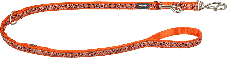 Red Dingo MultiPurpose Lead, Snake Eyes, orange, 20mm