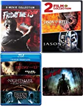 Friday the 13th: Ultimate Blu-ray / DVD Collection - Complete Movies 1-12 (Movies 9-10 in DVD Format - all Other Content in Blu-ray) with Extra Movie and Bonus Art Card
